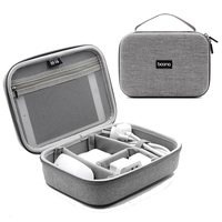Hard Shell Digital Gadgets Storage Box for iPad Mini USB Data Cable Mouse Charger Travel Electronics Accessories Organizer Bag