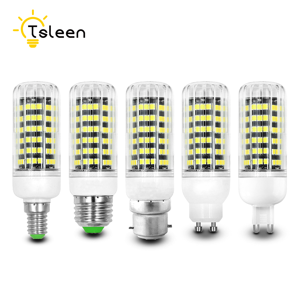 10x Led Bulb E27 B22 E14 G9 5W 9W 11W 12W 20W 25W LED Corn Bulb light AC110V 220V No Flicker spotlight bulb for living room lamp