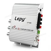 12V Mini Hi-Fi Auto Car Stereo Audio Power Amplifier Amp Booster Radio MP3 Stere