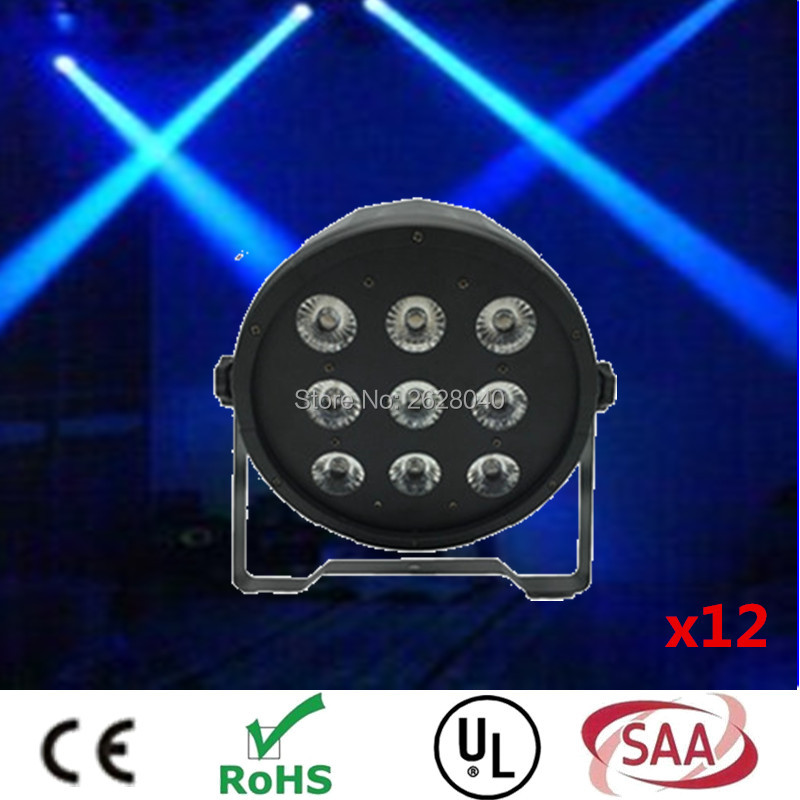 (12pieces/lot)  led par light 9*12w DMX wash Disco DJ Lighting Club Party light Strob dj equipment disco dj lights(12pieces/lot)  led par light 9*12w DMX wash Disco DJ Lighting Club Party light Strob dj equipment disco dj lights