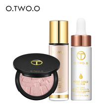Здесь можно купить   O.TWO.O 3pcs/set Invisible Cove Liquid Foundation+Highlighter+Make Up Oil for Girl Women Gift  Makeup