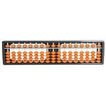 Цена ABS нетоксичные материалы пластик Abacus арифметические счеты соробан 17 цифр Дети Математика расчетный инструмент 26,8 см x 1,5 см