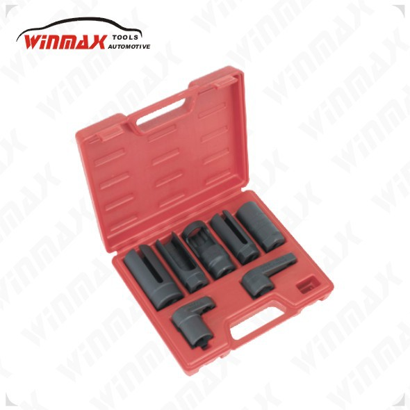 WINMAX 7 pièces voiture capteur d'oxygène/Lambda capteur prise ensemble outil toutes tailles 1/2