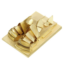 Sydney Opera House Metal 3D Puzzle For Boy Educational Toys Jigsaw Puzzles Building DIY Assembly Kids