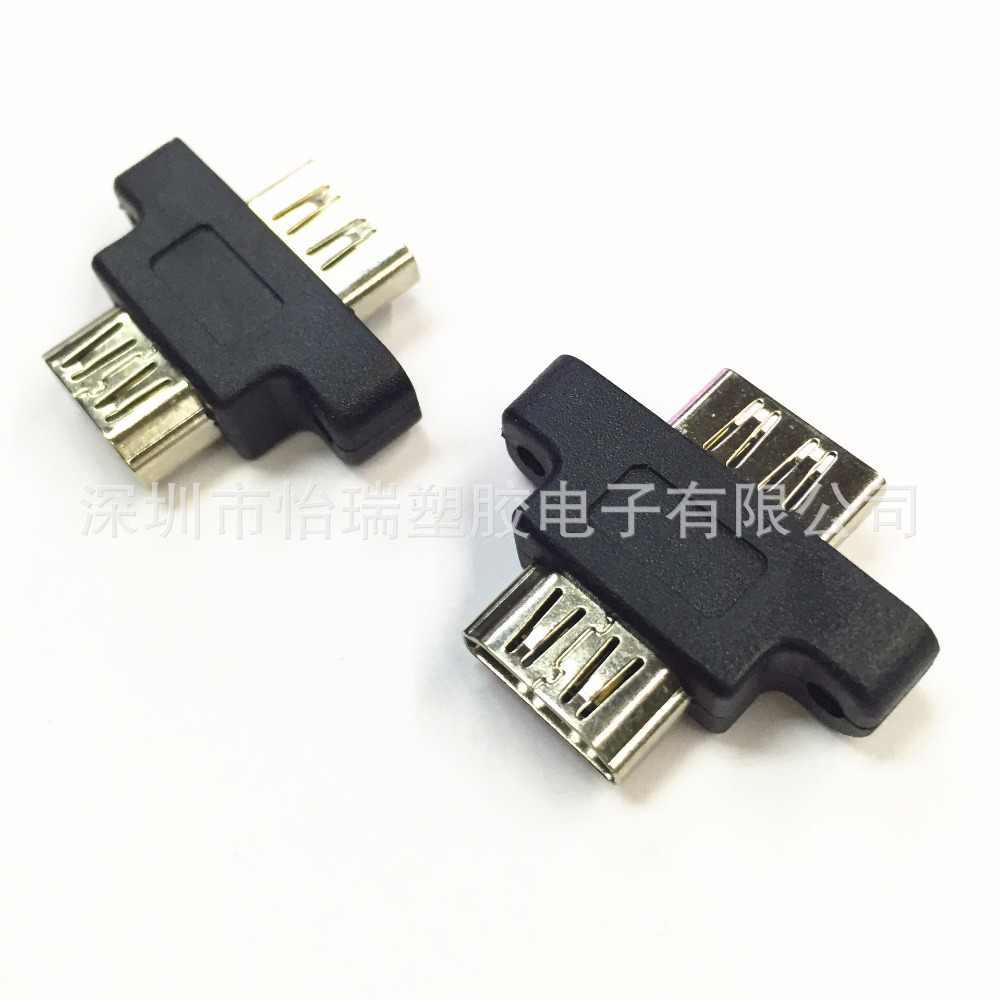 Mới nhất Molds HDMI Nữ để Nữ Chỉnh Núi Adapter Coupler Extender đối với 1080 p 3D TV LCD miễn phí vận chuyển