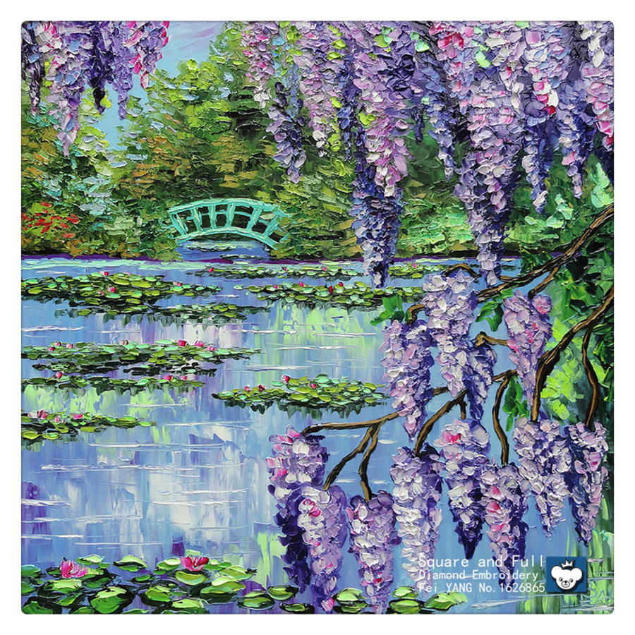Online get cheap woods trees lakes aliexpress alibaba group diamond painting cross stitch scenery house in woods diamond embroidery handcraft flowers trees rhinestones picture lake dhlflorist Image collections