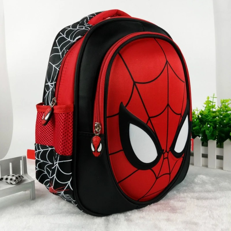 School-Bags Backpacks Mochila Satchel Knapsack Spiderman Waterproof Kids Boys 3D