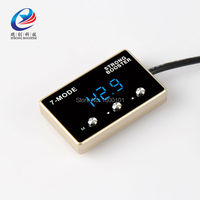 Car pedals speed accelerator wind Sprint Booster LED digital Electronic Throttle Controller for Soueast DX7 auto parts pedal box