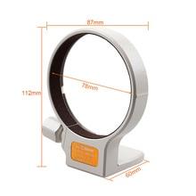 Di Alta Qualità 77 Millimetri di Metallo Tripod Mount Anello Collare B (W) per Canon Ef 70 200 Mm F/2.8L/Ef 100 400 Mm F5.6/Ef 35  350 Millimetri F5.6 Is Usm