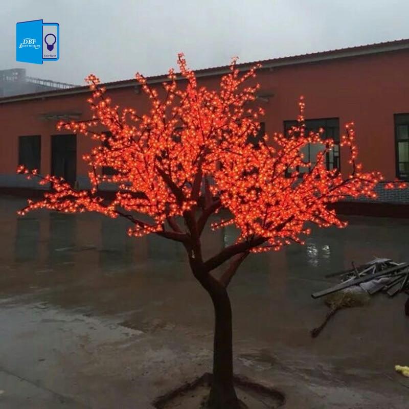 3m led crystal cherry blossom tree lights christmas new for Luminarias de exterior led