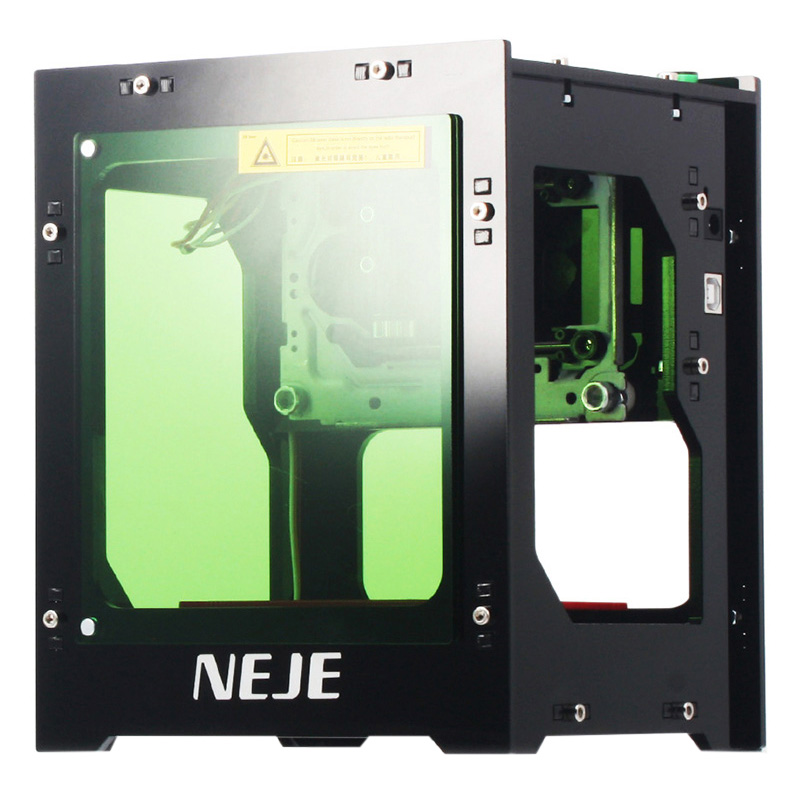 NEJE DK   8   KZ 3000mW 445nm Blu Ray AI Smart Painting DIY USB High Power CNC Laser Cutter Engraving Machine 3D Engraver-in Carbon Dioxide Lasers from Tools    2