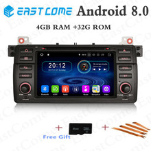 Android 8.0 Eight Octa Core 4GB RAM Car DVD Player For BMW 3 Series E46 M3 318i 320i 325i 328i Rover 75 MG ZT Stereo Radio GPS pao motoring coilover shock absorber for bmw e46 suspension 3 series 318i 320i 325i 328i non adjustable damper struts kit