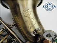 Free Shipping musical instruments professional Henri selmer sax alto Bronze saxophone alto STS-R54 Falling Tune E (F) saxophone