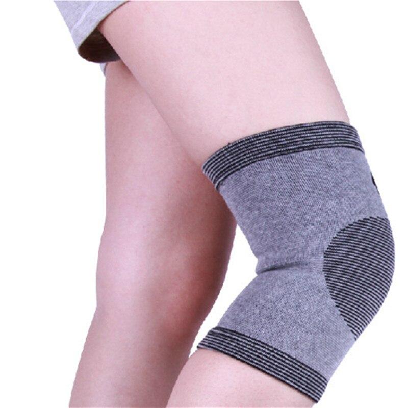 Soporte de pierna de bambú Rodilleras elásticas Rodilleras - Ropa deportiva y accesorios - foto 2