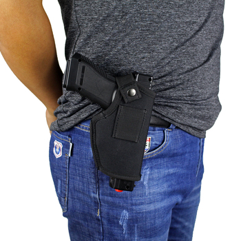 Gun Clip Holster Ultimate Concealed Carry IWB OWB Holster for Right Hand or Left Hand Draw fits Subcompact to Large Handguns