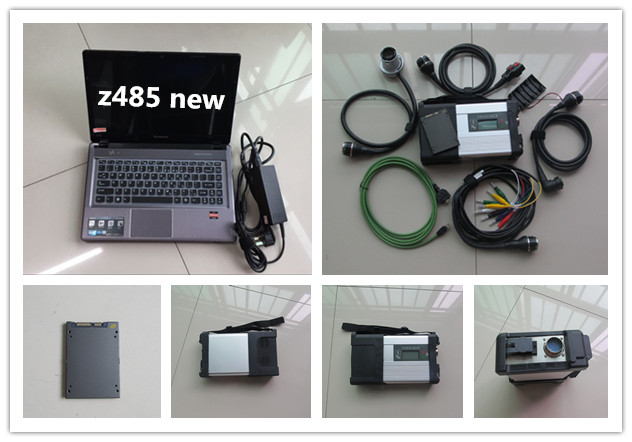mb sd connect compact 5 star diagnostic c5 with laptop z485 super ssd 2018.05 newest software win7 system best quality