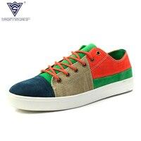 Breathable Men Casual Shoes Lace Up Hemp Mens Trainers Flat Walking Shoes Sport Comfortable Zapatillas Hombre