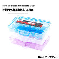 Multi Utility Storage Case Professional Nail Art Box Manicure Salon Kit Accessories Makeup Tools Box Plastic