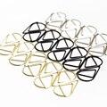 50 Teile/los Metall Material Drop Form Papier Clips Rose Gold Kawaii Lesezeichen Papier Clip Büro Schule Schreibwaren Kennzeichnung Clip