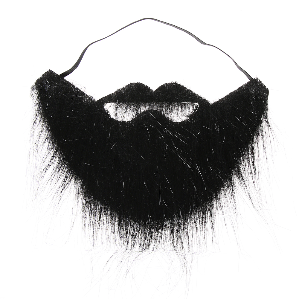 Costume Prom Props Party Fake Beard Moustache Wig Facial Hair Fancy Dress