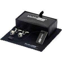 MeMolissa Display Box Cufflinks Classic Cufflinks for Men Exquisite Knot Design Cufflinks Men Jewelry Free Tag & Wipe Cloth pair of chic police box shape cufflinks for men