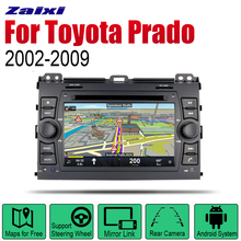 ZaiXi Auto Radio 2 Din Android Car DVD Player For Toyota Prado 2002~2009 GPS Navigation BT Wifi Map Multimedia system Stereo zaixi auto radio 2 din android car dvd player for toyota corolla 2013 2016 gps navigation bt wifi map multimedia system stereo