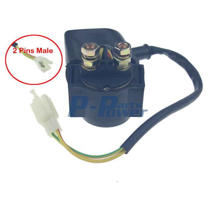 GY6 50CC 110CC 125CC 150CC Ignition Coil and Starter Solenoid Relay CHINESE SCOOTER ATV NEW aliexpress com buy gy6 50cc 110cc 125cc 150cc ignition coil and Pin Connector Wiring Harness Kits at eliteediting.co