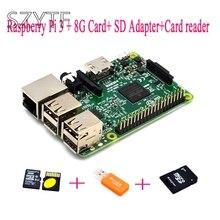 Buy Raspberry Pi 3 + 8G Card+ SD Adapter+Card reader Raspberry Kit