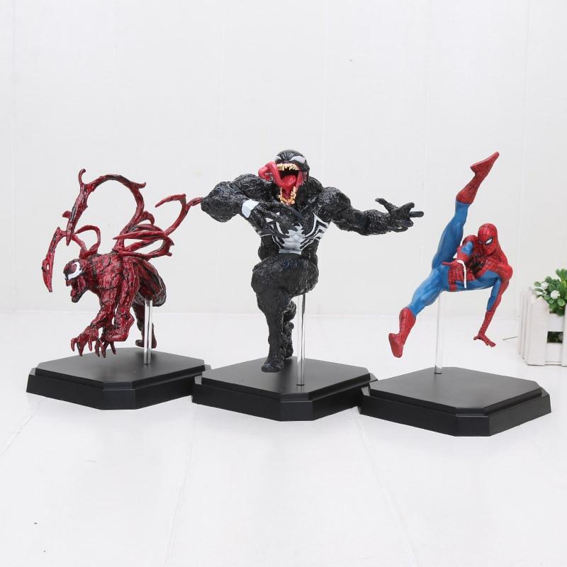Hasbro Marvel 20cm Super Hero The Avengers action figure Spiderman Spider man Venom Carnage BDS PVC action figure Toys