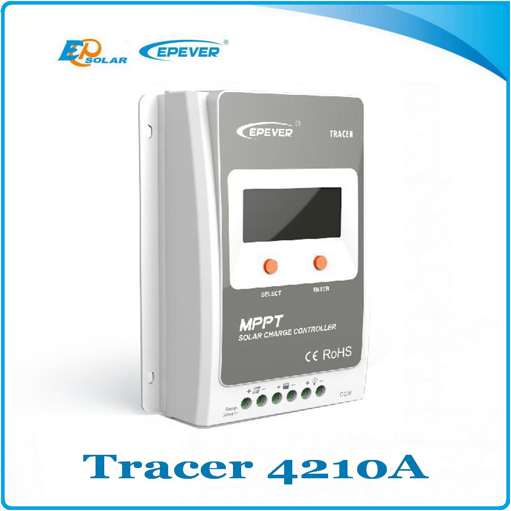 MPPT 40A Solar Charge controller 12V 24V auto switch LCD display, 100% EPsolar  MPPT 40A Battery Regulator Solar Controller