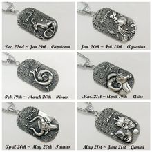 Full rhinestones crystals 12 constellations pendant necklace Vintage silver 316L stainless steel 12 Zodiacs necklace CARA0441 gorgeous artificial crystals rhinestones oval necklace for women