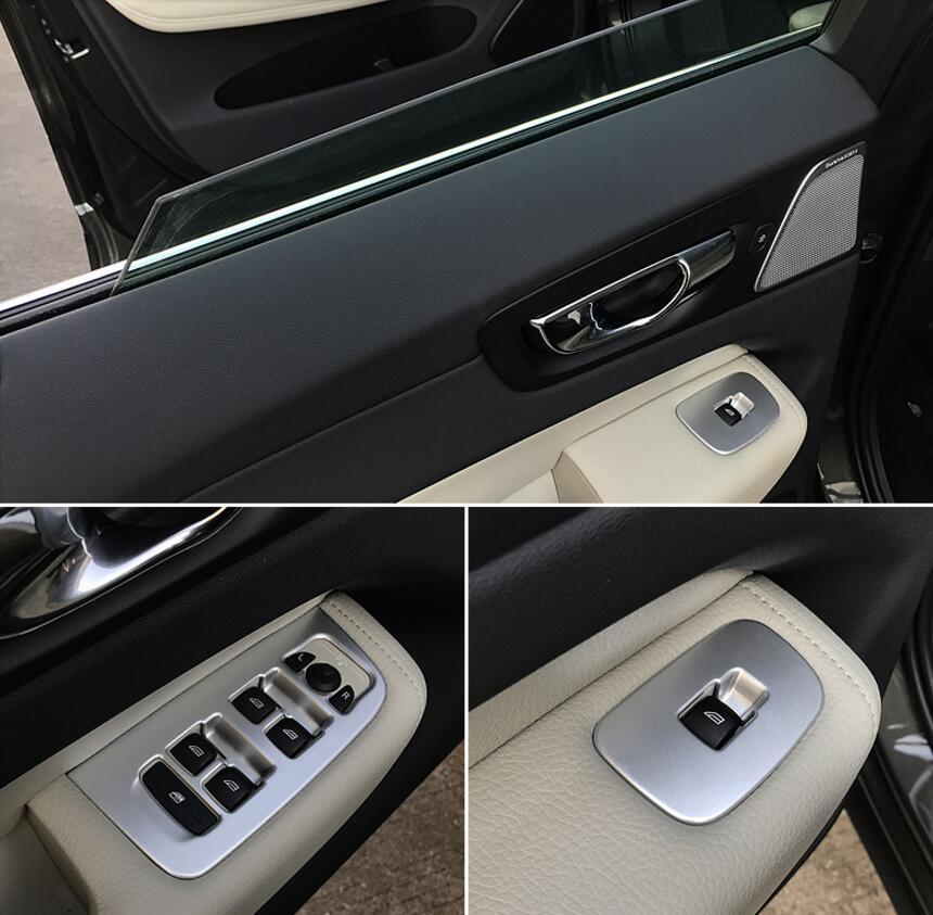 For volvo xc60 2018 2019 abs cromato porta interna maniglia porta interruttore alzacristalli - Prezzo porta interna ...