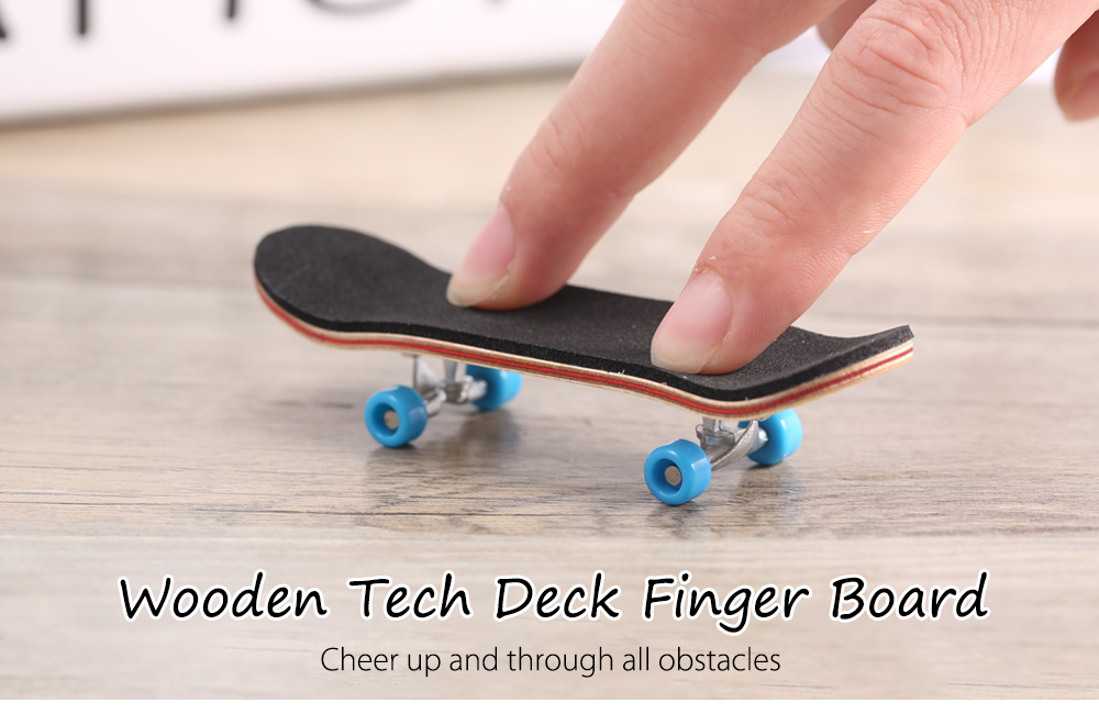 New Hot Wooden Tech Deck Cute Mini Finger Board Ultimate Sport Training Skate Boarding Toys For Kids Adults Gifts