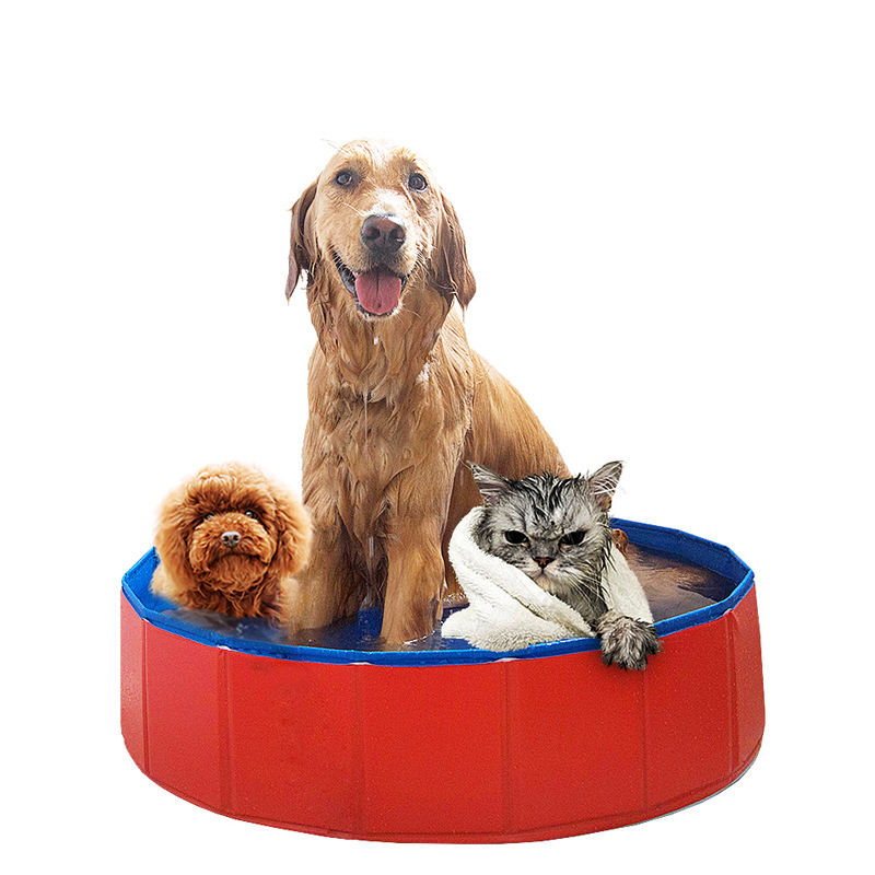 Chiens pliable natation PVC accessoires piscine baignoire pour animaux de compagnie fournitures chat produits piscina perros honden zwembad
