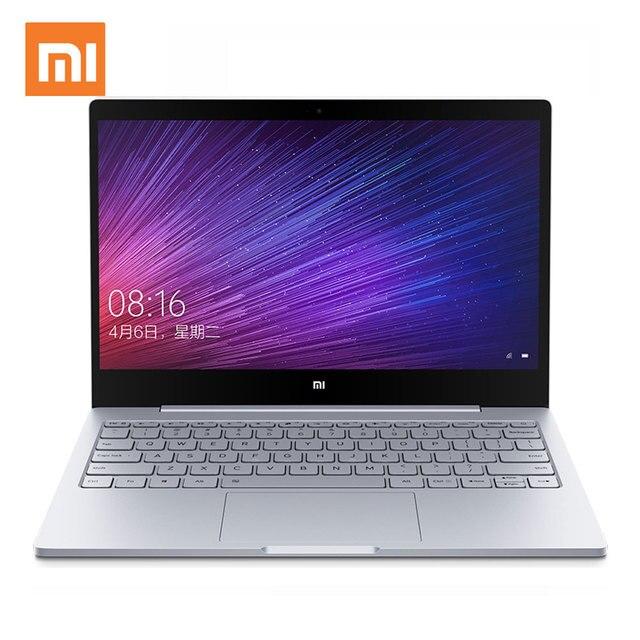 Оригинал Xiaomi Mi Воздуха ноутбук Intel Core i7-6500U CPU 8 ГБ DDR4 ОЗУ Intel GPU 13.3 дюймовый Ноутбук Windows 10 Встроенный 256 ГБ SSD