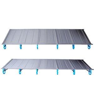 Image 3 - سرير قابل للطي جديد من سبائك الألومنيوم فائق الخفة 1.6 كجم BRS سرير قابل للنقل للتخييم في الهواء الطلق