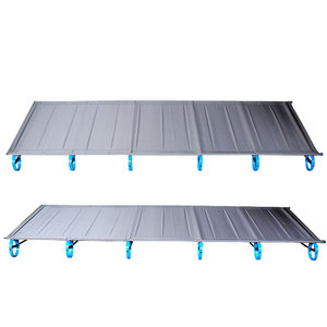 Image 3 - New BRS 1.6kg Ultralight Aluminium alloy Folding Bed Portable Bed Outdoor Camping Bed