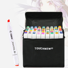 TouchFIVE 12/30/36/40/48/60/72/80/168 Colors Art Markers Set Sketch Marker Dual Head Drawing Art Brush Pens For Artist Drawing sta 36 48 60 72 architecture art marker set dual drawing markers drawing markers stationary supplier drawing marker
