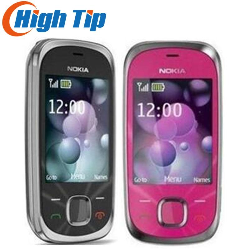NOKIA Original Unlocked 7230 Free Shipping 3.2MP Camera Original 7230 3G Mobile Phone Refurbished 1 Year Warranty