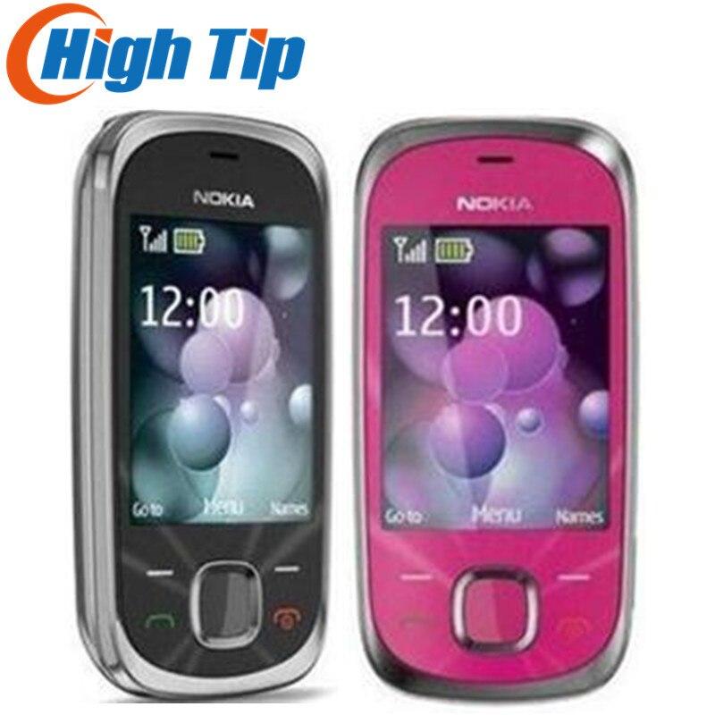 NOKIA Original Débloqué 7230 Livraison Gratuite 3.2MP Caméra D'origine 7230 3G mobile téléphone Rénové garantie de 1 an
