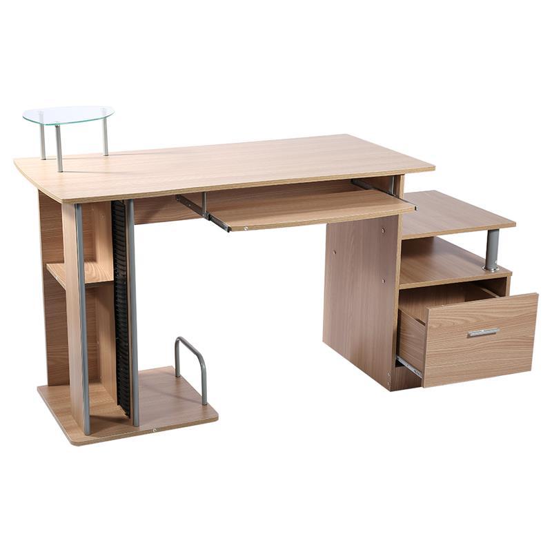Moderne Entrepôt Ordinateur Bureau Plateau Accueil Office Ordinateur De Poste de Travail Table D'écriture Bureaux avec le Support De Stockage dans   de