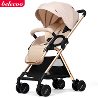 belecoo stroller folding portable trolley two way baby stroller baby stroller ultra light umbrella stroller free shipping