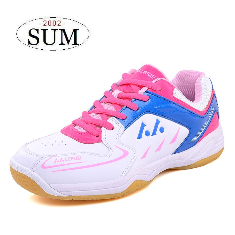 ФОТО Spring summer 2017 new arrival women sneakers lightweight and non-slip professional Badminton shoes woman female sport shoes