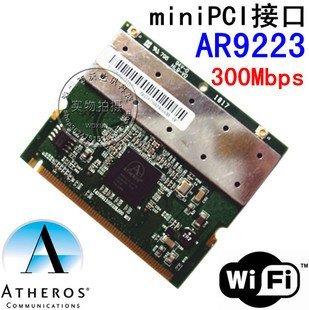 Atheros AR9223 Mini PCI rede wi fi sem fio WLAN cartão de Laptop 802.11 uma bgn