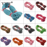 380m/pc 1mm Nylon Cord Thread Chinese Knot Macrame Braided Tassels Beading17Color