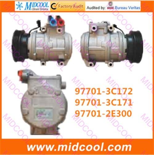 HIGH QUALITY AUTO AC COMPRESSOR 10PA17C  FOR  97701-3C172 97701-3C171 97701-2E300
