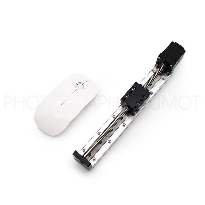 Micro actionneur linéaire 50-300mm course personnalisée 12VDC actionneur linéaire Nema11 moteur pas à pas linéaire force étanche pour médical
