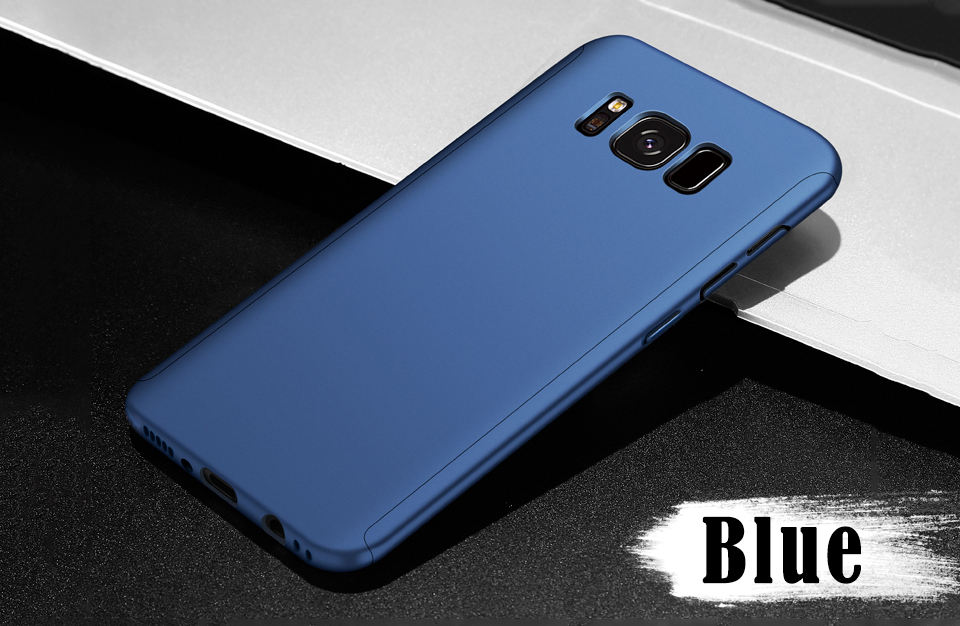 360 Samsung Galaxy S8 Plus Case S9 Note 8 9 S7 Full Cover With Screen Protector For A3 A5 A7 J5 J7  Case