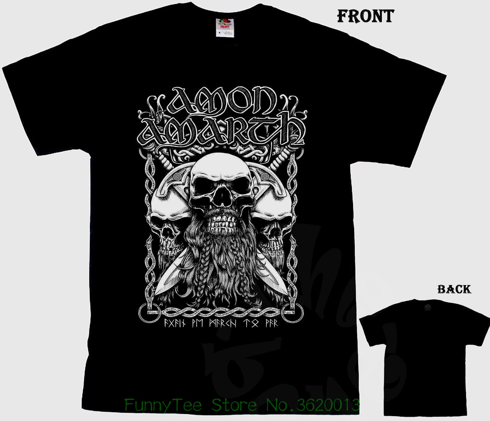 Amon Amarth melodic Death Metal Band arch Enemy Shirt O Neck men t shirt shirt Short Solid O Neck Broadcloth Cotton in T Shirts from Men 39 s Clothing