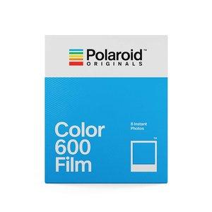 Image 2 - Original Color 600 película 8 hojas fotos instantáneas papel de marco blanco para Vintage 600 636 Closeup OneStep cámaras Tipo i